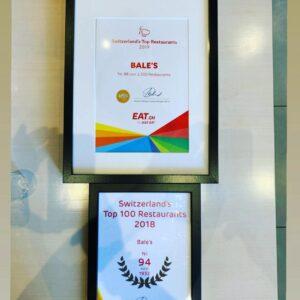 Bales - Eat-Auszeichnung